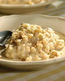 Brown-Rice Pudding