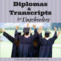 Diplomas Transcripts