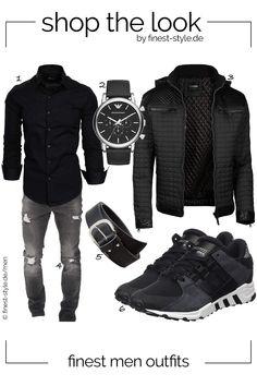 new concept a56b4 34124 Cooles Outfit für Männer mit Einzelteilen von Emporio Armani, shenky,  Trisens, Amaci Sons und