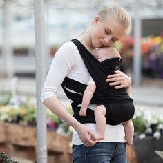 Boppy ComfyFit Baby Carrier - Black
