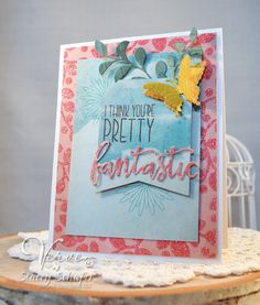 Stacey's Stamping Stage: Verve Stamps - August 2016 Inspiration Challenge