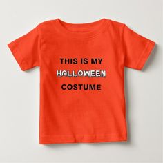 This is my Halloween Costume T Shirt This makes a perfect gift for family and friends or a great design for yourself. Choose from tees or sweatshirts. *Exclusive Design - Not sold in stores! T-shirts raise awareness, boost spirits and create lasting connections! #kids #childrens #halloween #costume #tees #clothing #clothes #tshirt