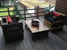 Pallet+Furniture+DIY | DIY pallet furniture | up north