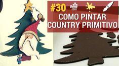 COMO PINTAR COUNTRY PRIMITIVO?! - Pintando Com o  #30