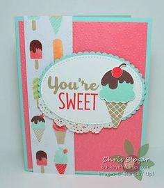 Cool Treats #buckeyeinklings #stampinup #handmadecards