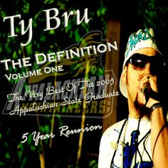 The very best of NC Heavy Weight MC, Ty Bru. Spanning 2007-2009