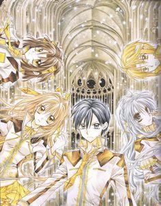 Arina Tanemura, Shinshi Doumei Cross, Tougu, Maguri Tsujimiya, Ushio Amamiya - Shinshi Dōmei Kurosu - Gentlemen's Alliance Cross