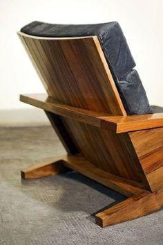 Fine Furniture, Furniture Making, Wood Furniture, Furniture Design, 2x4 Lumber, Morris Chair, Chair Design Wooden, Wood Kitchen Cabinets, Diy Chair