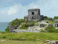 Tulum Ruin on the beach.