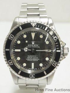 Stunning 5512 Rolex Time Machine Original Owner Submariner Box Papers 1624235 #Rolex #LuxurySportStyles