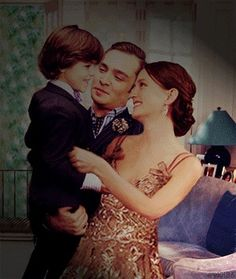 Henry, Chuck and Blair- Gossip Girl