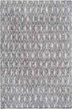 Surya Quartz QTZ5011 Grey/Blue Geometric Area Rug