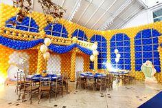 DECORAÇÃO FESTA A BELA E A FERA BEAUTY AND THE BEAST BIRTHDAY PARTY IDEAS.10