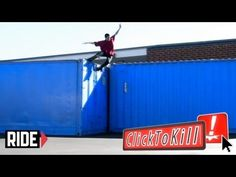 10 Ft. Tall Trailer To Concrete SLAM - Click To Kill
