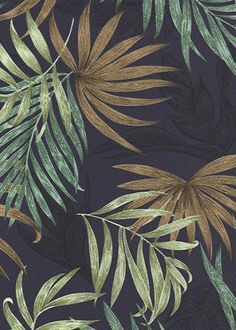 10alawa- - Barkcloth Hawaii - Timeless Hawaiian Fabrics For your Home& Body  		Tropical vintage style, Hawaiian botanical palm leafy broadcloth apparel weight fabric.