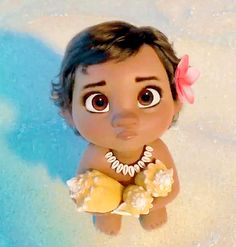 Baby Moana, THE CUTEST BABY EVER!!!!