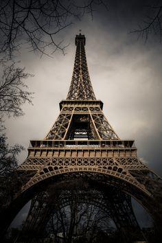 Eiffel Tower ~ Paris, France (photo by Nicholas Barrail, France)....