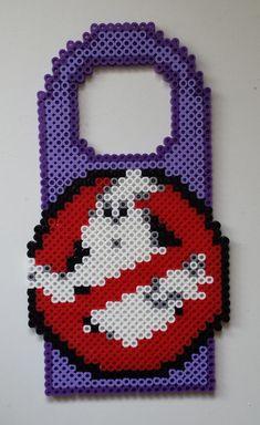 Perler Door Hanger Ghostbusters.