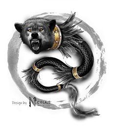 Tattoo idea Wolf Tattoos, Tatoos, Ozzy Tattoo, Draco, Romania, Tattoo Ideas, Owl, Flag, Drawings