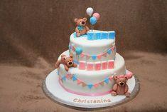 tarta de bautizo
