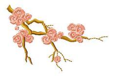 "Free embroidery design ""Sakura"" | free embroidery designs"
