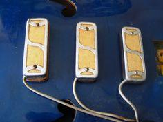 Dearmond Gold Foil Pickups