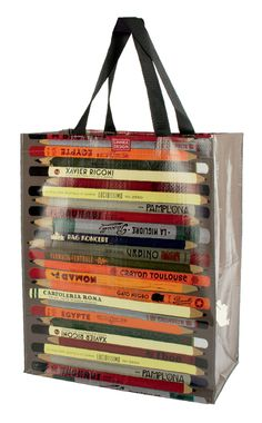 Linnea Designs Pencils Tote Bag