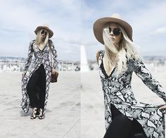 Get this look: http://lb.nu/look/7393006  More looks by Inês M: http://lb.nu/imm  Items in this look:  Missguided Dress, Zara Shoes, Asos Hat   #bohemian #casual #chic