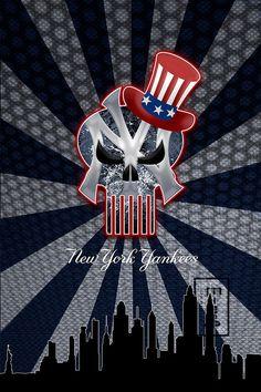 New York Yankees Art New York Yankees Poster Yankees by McQDesign