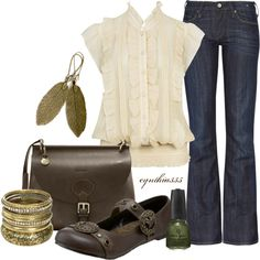 Classy Casual, created by cynthia335 on Polyvore
