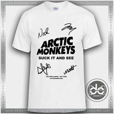 Buy Tshirt Arctic Monkeys Signature Album Tshirt Womens Tshirt Mens Tees Size S-3XL