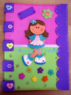 Yanny´s Crafts: Carpeta Decorada