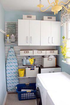Laundry Room Design Ideas | Laundry Room Organizing | Laundry Storage