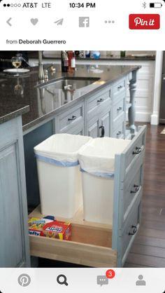 Garbage/recycling storage