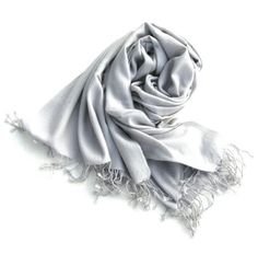 "Pure Pashmina Cashmere Scarf Shawl Wrap for Women or Men in Premium 2 ply Pashmina 28"" W x 80"" L in SILVER FROST LC016 Rocky Mountain Emporium. $105.00 Pashmina Scarf, 2 Ply, Cashmere Scarf, Frost, Shawl, Scarves, Mountain, Pure Products, Clothing"