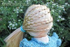 Doll Hairstyles, for Ginger - Hair Tutorials Ag Doll Hairstyles, American Girl Hairstyles, Hairstyle Ideas, Hair Ideas, Girl Dolls, Ag Dolls, Ag Hair Products, Our Generation Dolls, Ginger Hair