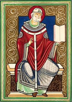 Medieval art, Pope Gregory