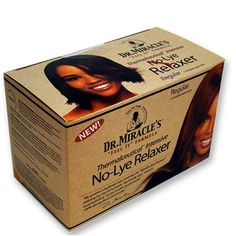 Dr Miracles Thermalceutical Intensive No-lye Relaxer System, Super