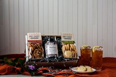 Summer Tea and Cookies Gift Box