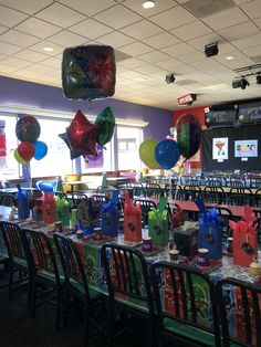 Bathroom Inside Chuck E Cheese . Bathroom Inside Chuck E Cheese . Fnaf Mangle and toy Chica Chucky Cheese Birthday Party, Chuck E Cheese Birthday, 1st Birthday Party Themes, 1st Birthday Cake Smash, Cheese Party, Birthday Table, 4th Birthday, Birthday Ideas, Party Table Decorations