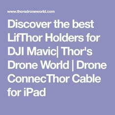 Drone ConnecThor Cable for iPad
