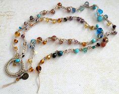 Loves Journey Etsy listing at https://www.etsy.com/listing/214349093/bohemian-wrap-long-crocheted-lariat