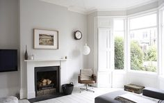 Patchwork Harmony blog: Painting the fireplace