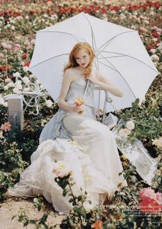 Lily Cole by Tim Walker for Vogue UK (December...