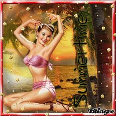 Vintage PIN UP Woman
