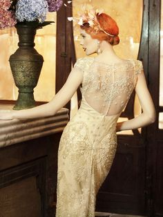 My current #1 inspiration for wedding dress - back view