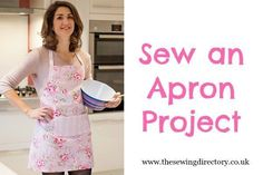 Apron sewing project from Sew Essential