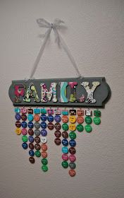 A Crafty Escape: Family Dates Sign