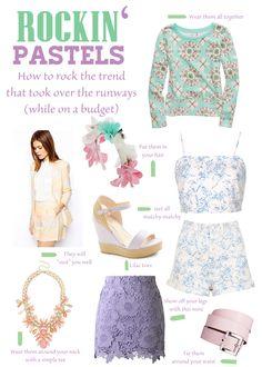 Sparkling Footsteps || Rockin' Pastels