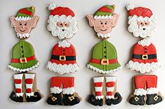 Santa BELL-y Cookies from Sweet Sugarbelle | A guest-post, b… | Flickr
